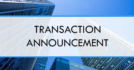 Transaction Announcement
